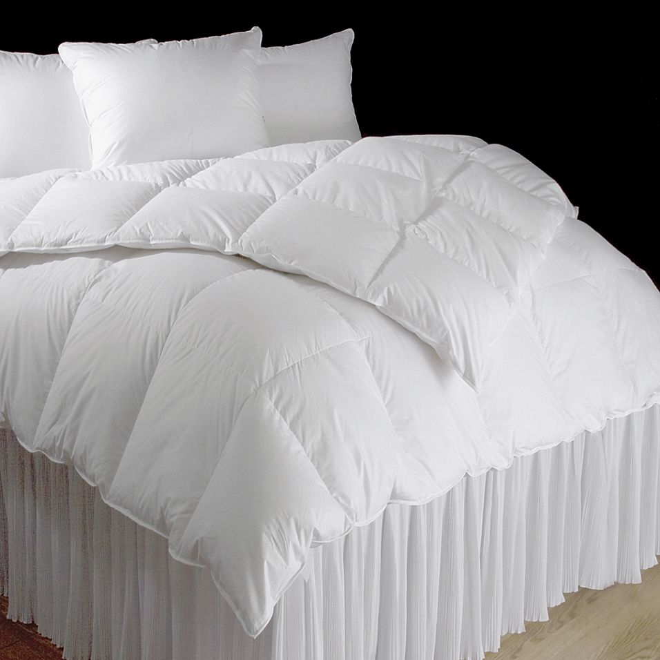 Downtown Company Sweet Dream Hungarian Queen Down Comforter White