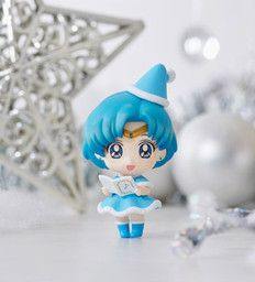 Bishoujo Senshi Sailor Moon - Sailor Mercury - Petit Chara! Bishoujo Senshi Sailor Moon Christmas Special - Petit Chara! Series (MegaHouse)