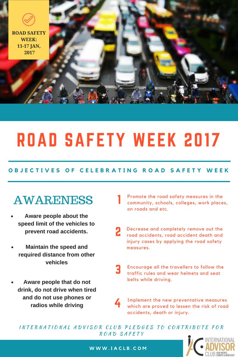 Road Safety Week 2017 Safety week, Health, safety