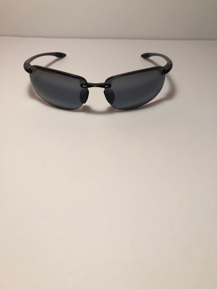 6ed5cb5f468 Maui Jim Hookipa MJ-407-02 64  17-130 Black Sunglasses (Made In ...