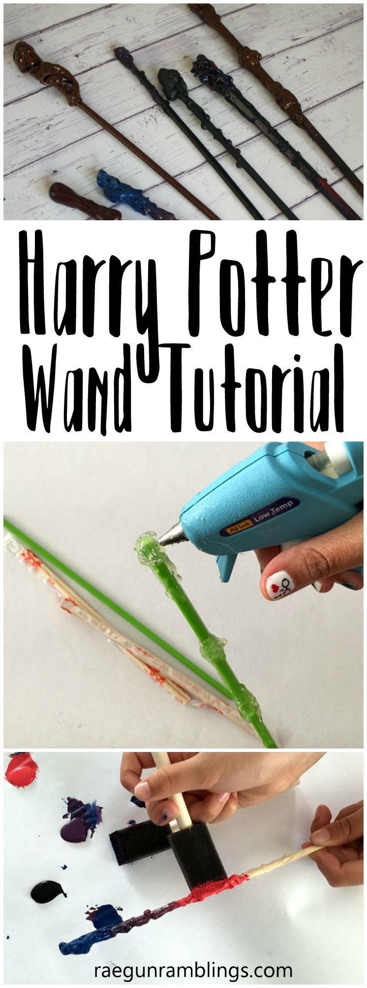 How to Make a Harry Potter Wand Tutorial #bachlorettepartyideas