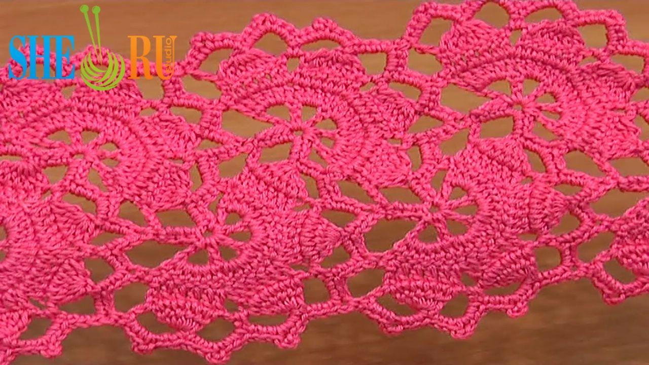 Wide crochet lace tutorial 7 part 2 of 2 lace tape stitch 2 wide crochet lace tutorial 7 part 2 of 2 lace tape bankloansurffo Gallery