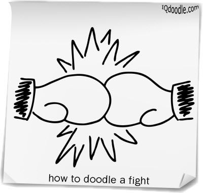 How To Doodle A Fight
