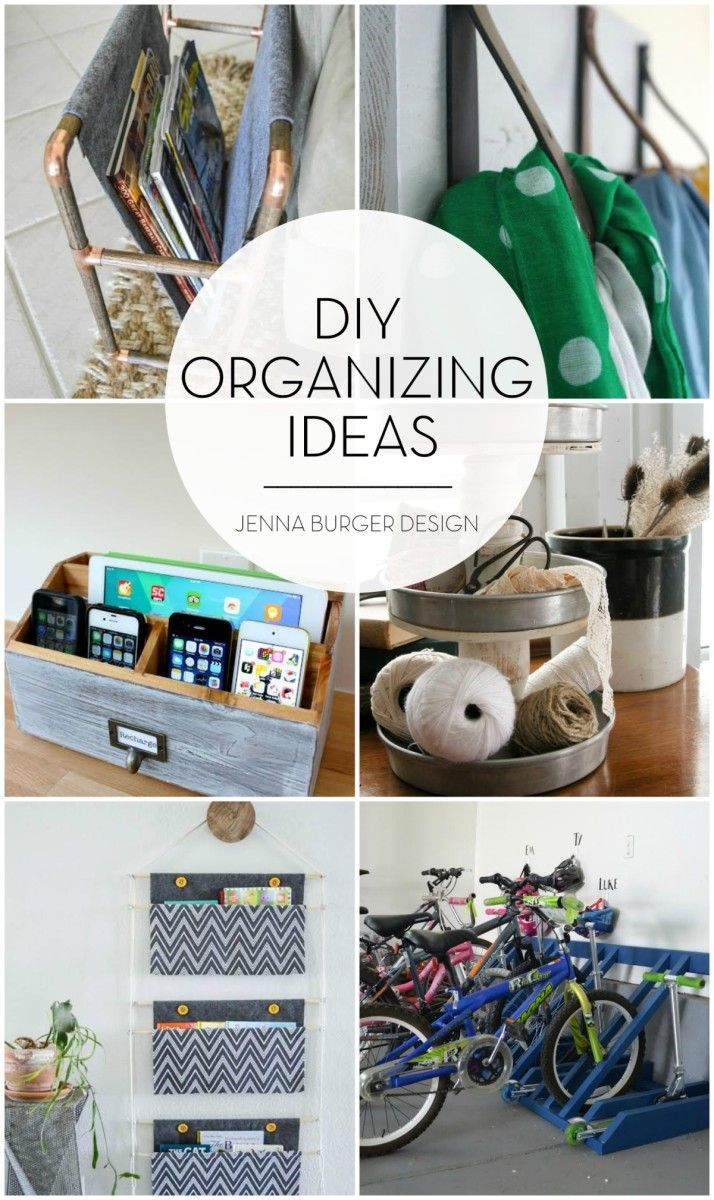 DIY Organizing Ideas | Home Organization | Pinterest | Organizations ...