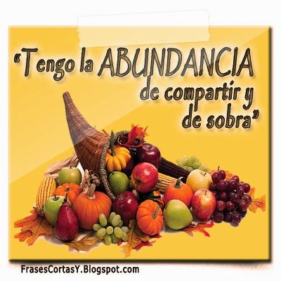 Afirmaciones de Abundancia