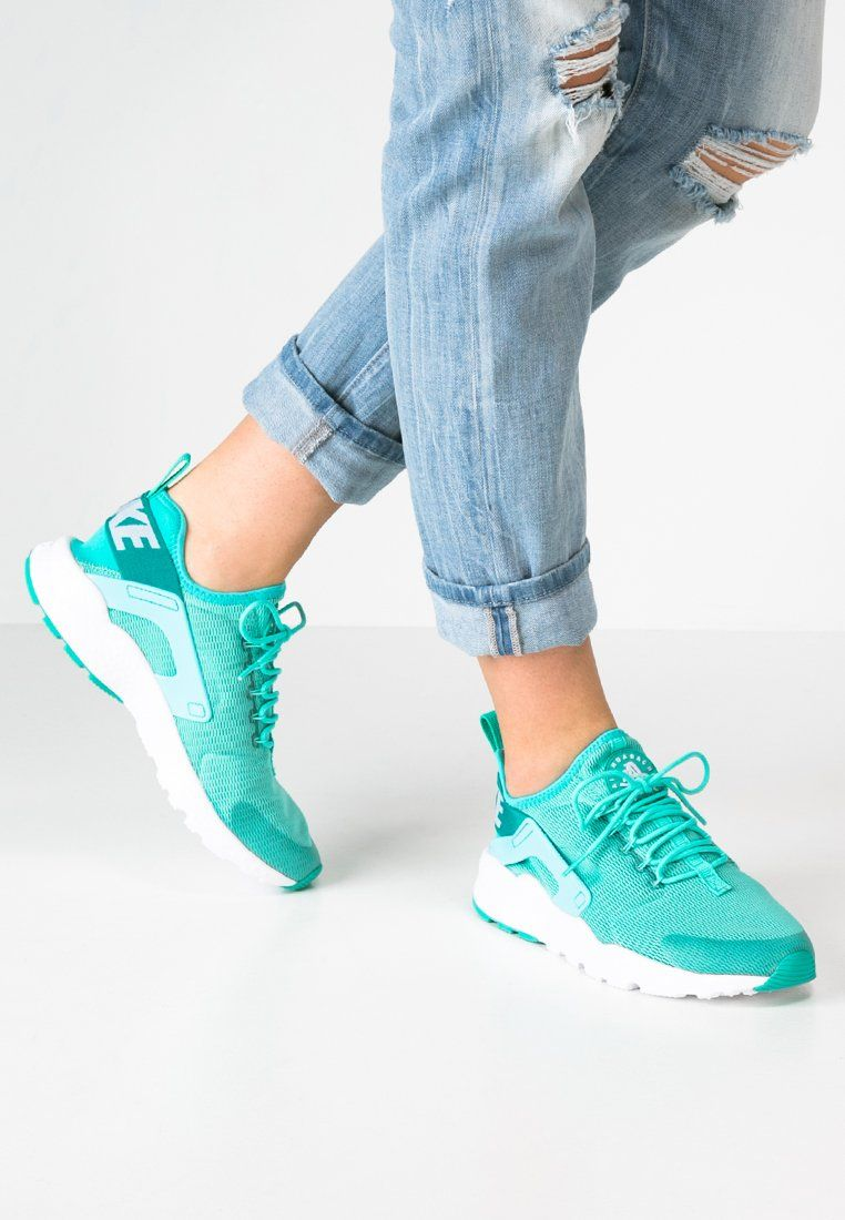 pretty nice e0feb 7f44b Femme Nike Sportswear AIR HUARACHE RUN ULTRA - Baskets basses - hyper  turquoise white turquoise