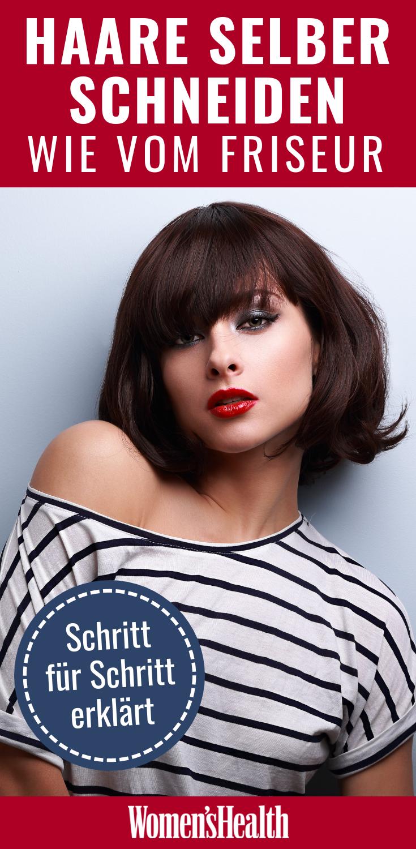 Anleitung zum Haare selber schneiden