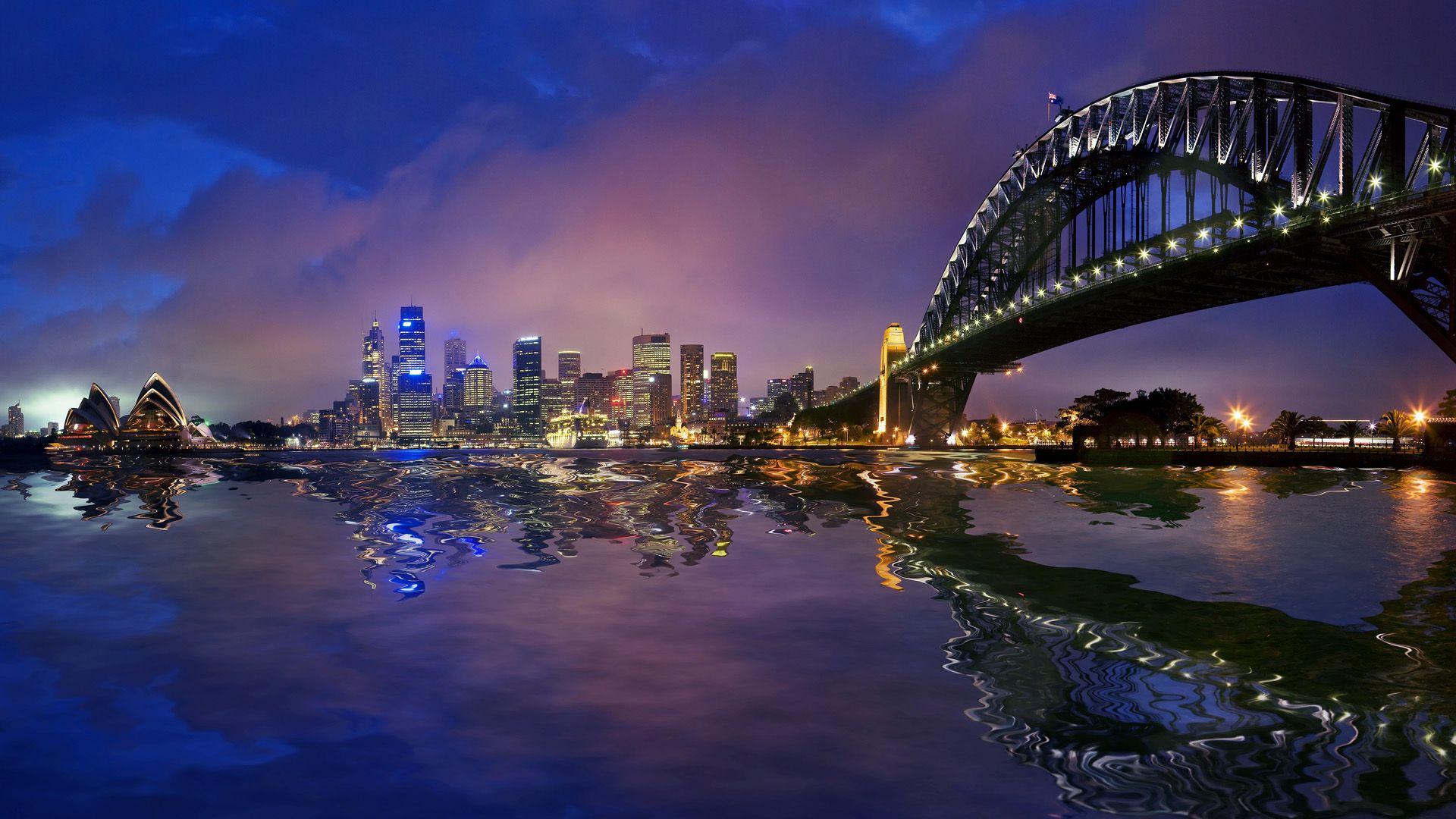 Sydney harbour bridge cityscape wallpaper travel hd wallpapers bridge sydney harbour bridge cityscape wallpaper altavistaventures Images