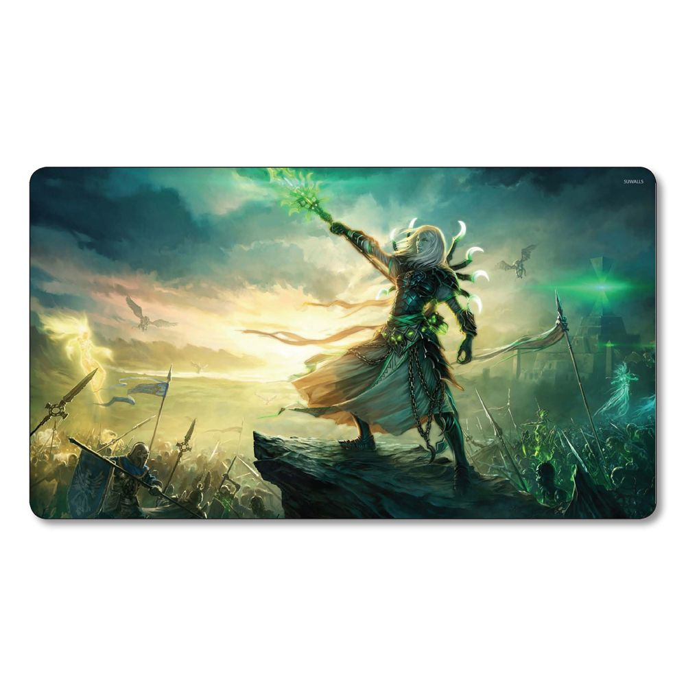 Pin By Lotus Black On Magic The Gathering Playmats Heroes Of The Storm Scene Mouse Pad
