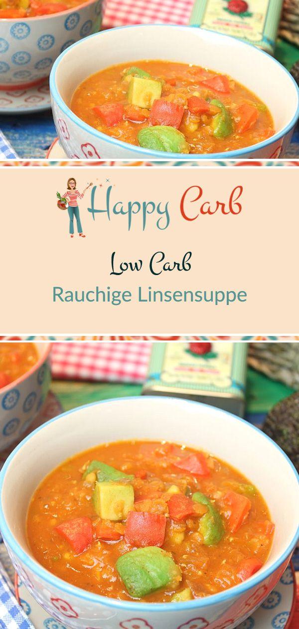 Rauchige Linsensuppe - Happy Carb Rezepte