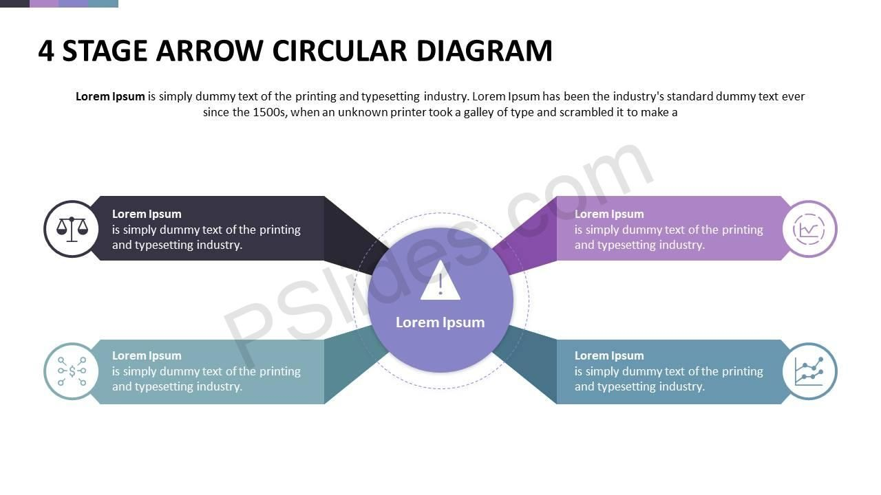 4 stage arrow circular diagram powerpoint diagrams pinterest template 4 stage arrow circular diagram ccuart Choice Image