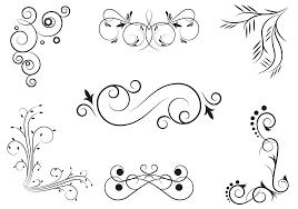 Resultado De Imagen Para Arabescos Sin Fondo Arte Vectorial Lineas Decorativas Arabesco
