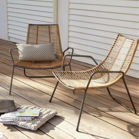 fauteuil de jardin alinea fauteuil de