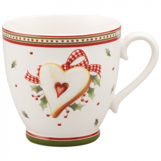 Winter Bakery Delight Coffee Cup 8 5 Oz Villeroy Boch Christmas Dinnerware Christmas Mugs
