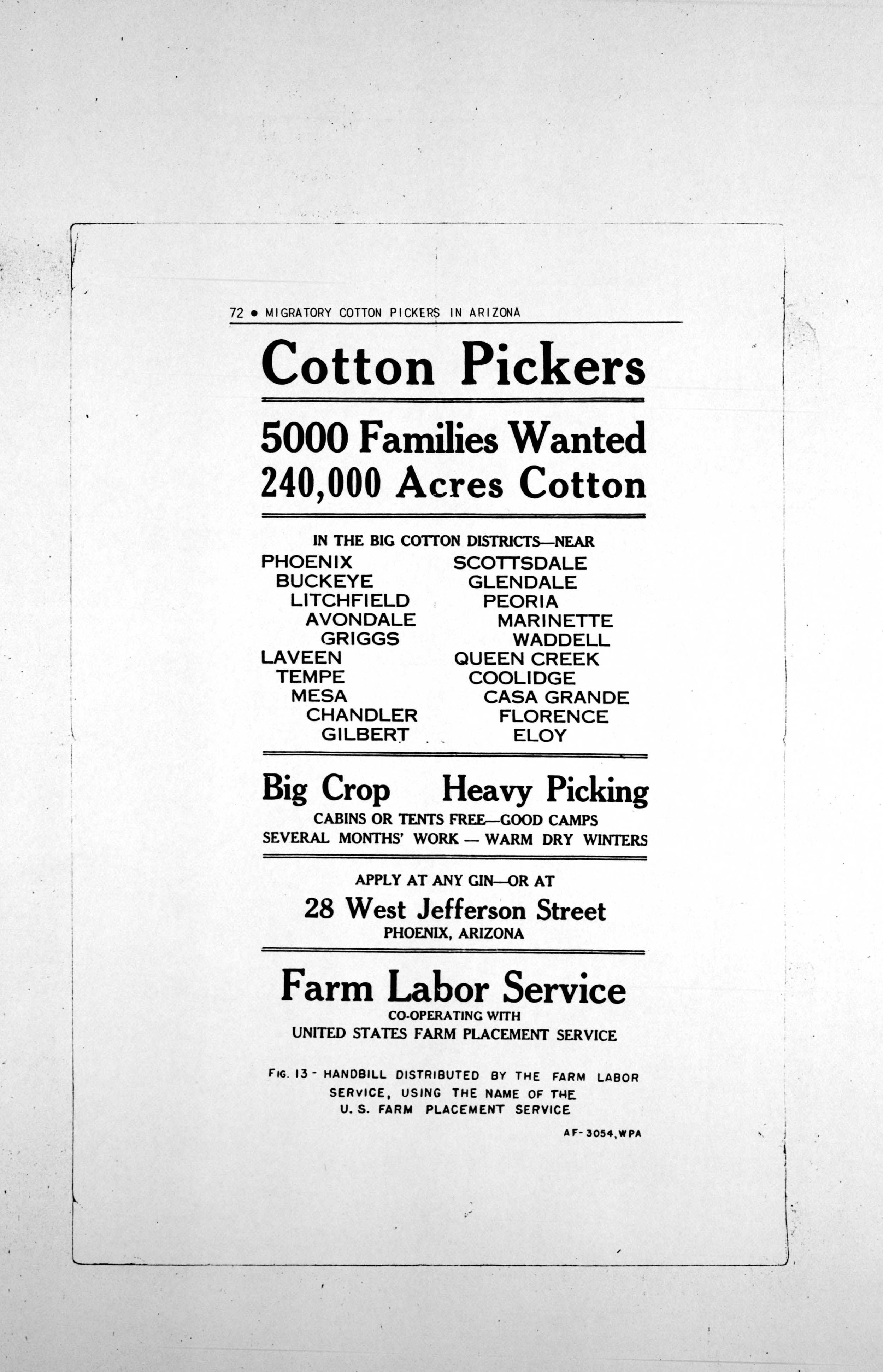 The Joad Family Receives Handbills That Ask For Workers They Say That There Are Like 800 People