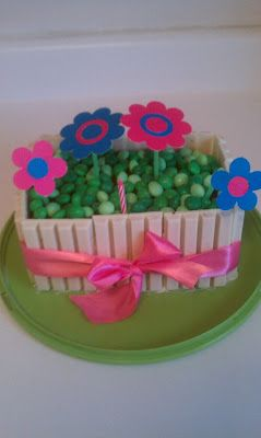 white chocolate version of the kit kat cake for teacher s