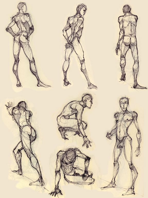 Some More Figure Drawing By Luthie13iantart On Deviantart