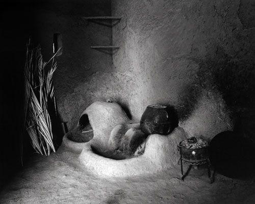 Morocco Dra valley ksar Tissergate house interiorkitchen © Bart Deseyn