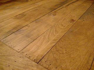 Cottage Dreamers Pine Wood Floors In The Bathroom In