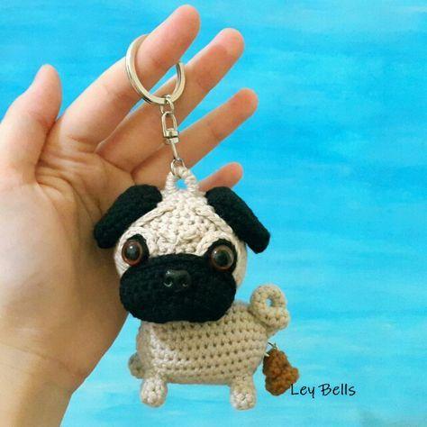 Crochet Adorable Pug Amigurumi Dog Part 1 of 2 DIY Tutorial - YouTube | 474x474