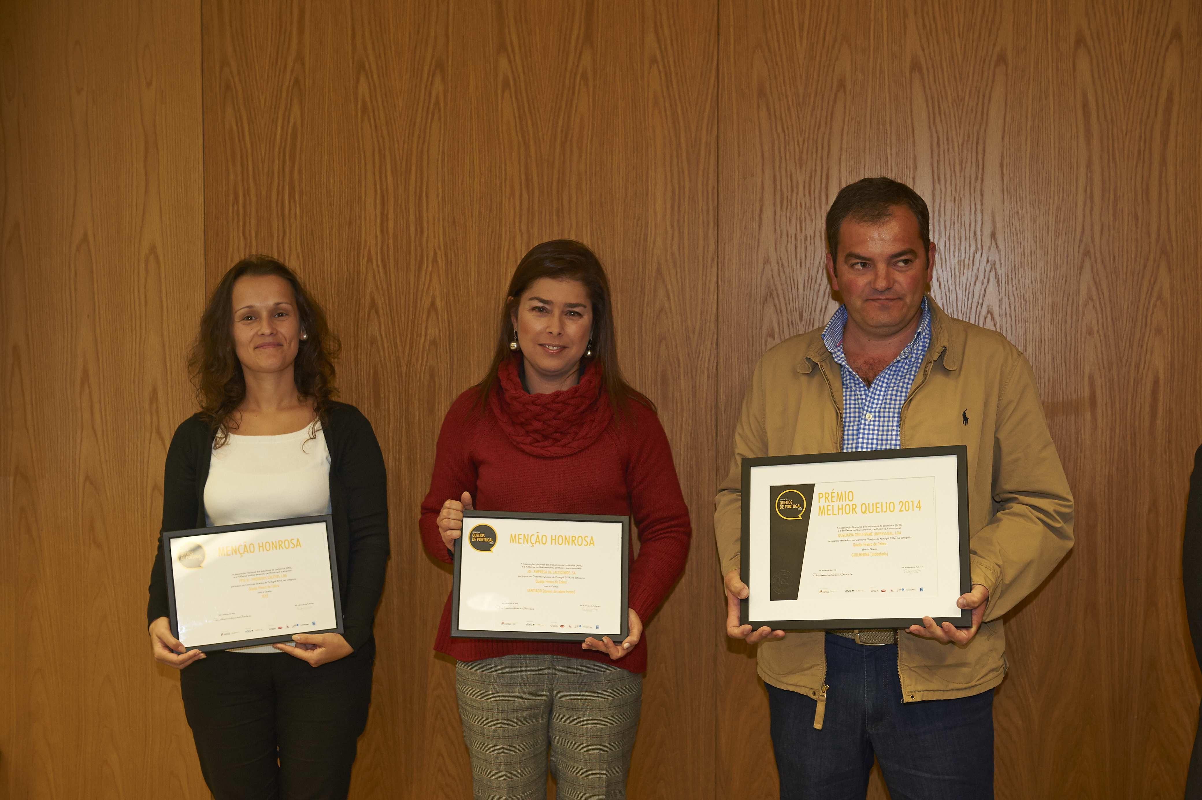 Cerimónia de entrega de prémios do concurso Queijos de Portugal 2014 | 2014.10.24