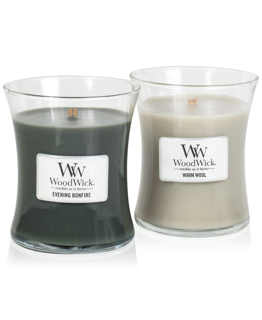 Woodwick Candle Gift Set Wood Wick Candles Candles Candle Jars