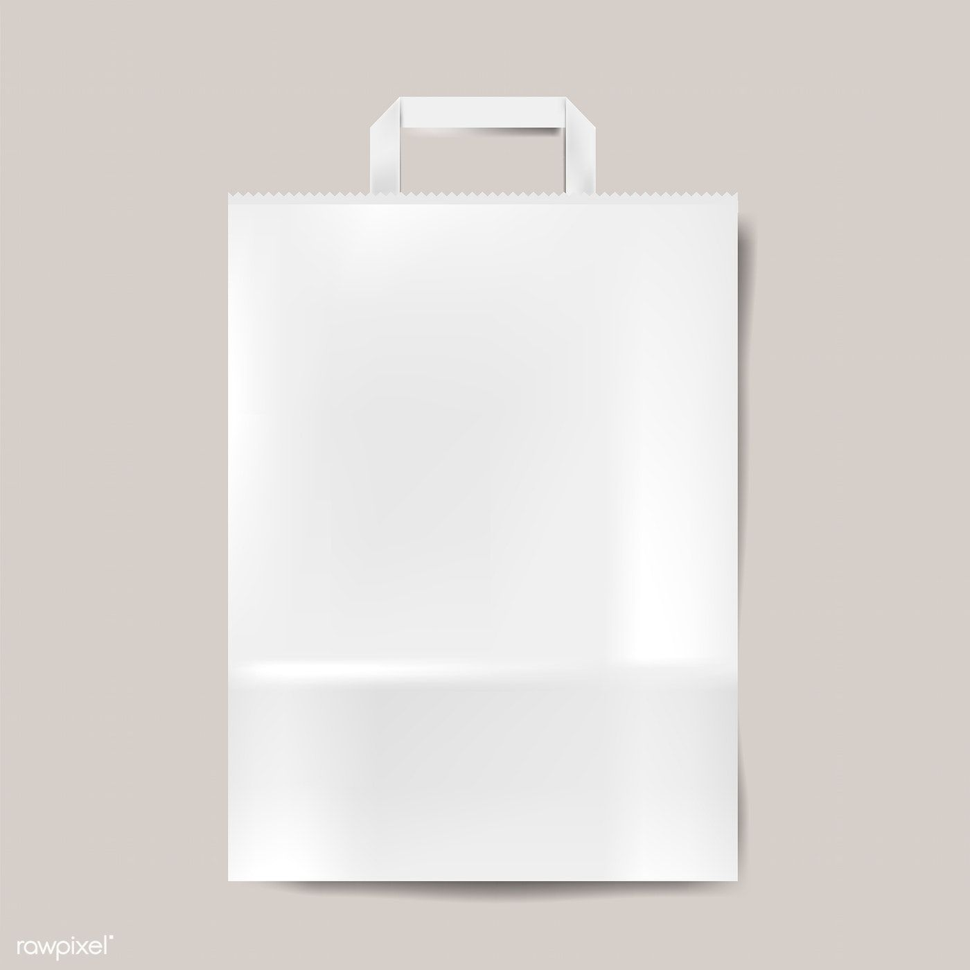 Download Paper Bag Mockup Isolated Vector Free Image By Rawpixel Com Aew Bag Mockup Graphic Design Mockup Paper Bag