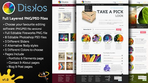 Shopping Diskos - Creative PSD Website Templateonline after you search a lot for where to buy