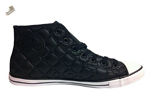 7d54c6f033455 Converse Women's Chuck Taylor® All Star Dainty Quilted Nylon,Black ...