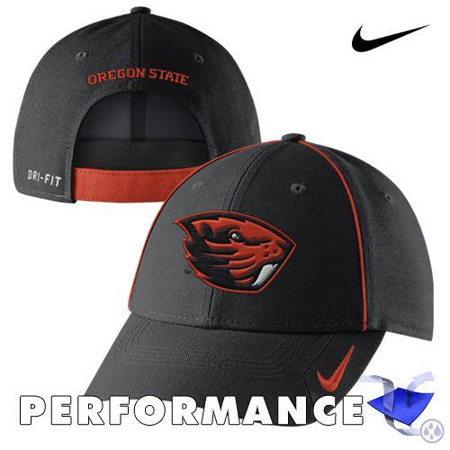 82ba79e7 Oregon State Beavers Nike Dri-FIT Coaches Legacy 91 Adjustable Cap - Black