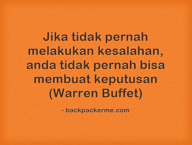 Kata Motivasi Warren Buffett Cikimm Com