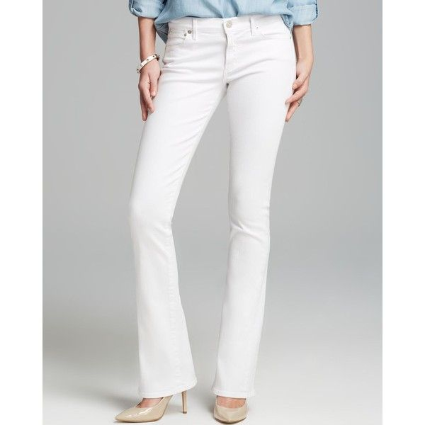 Citizens of Humanity Jeans - Emannuelle Bootcut in Optic White ...