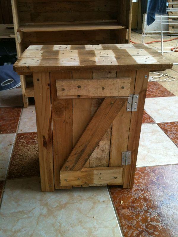 Table De Chevet Creations Et Meubles En Bois De Palettes