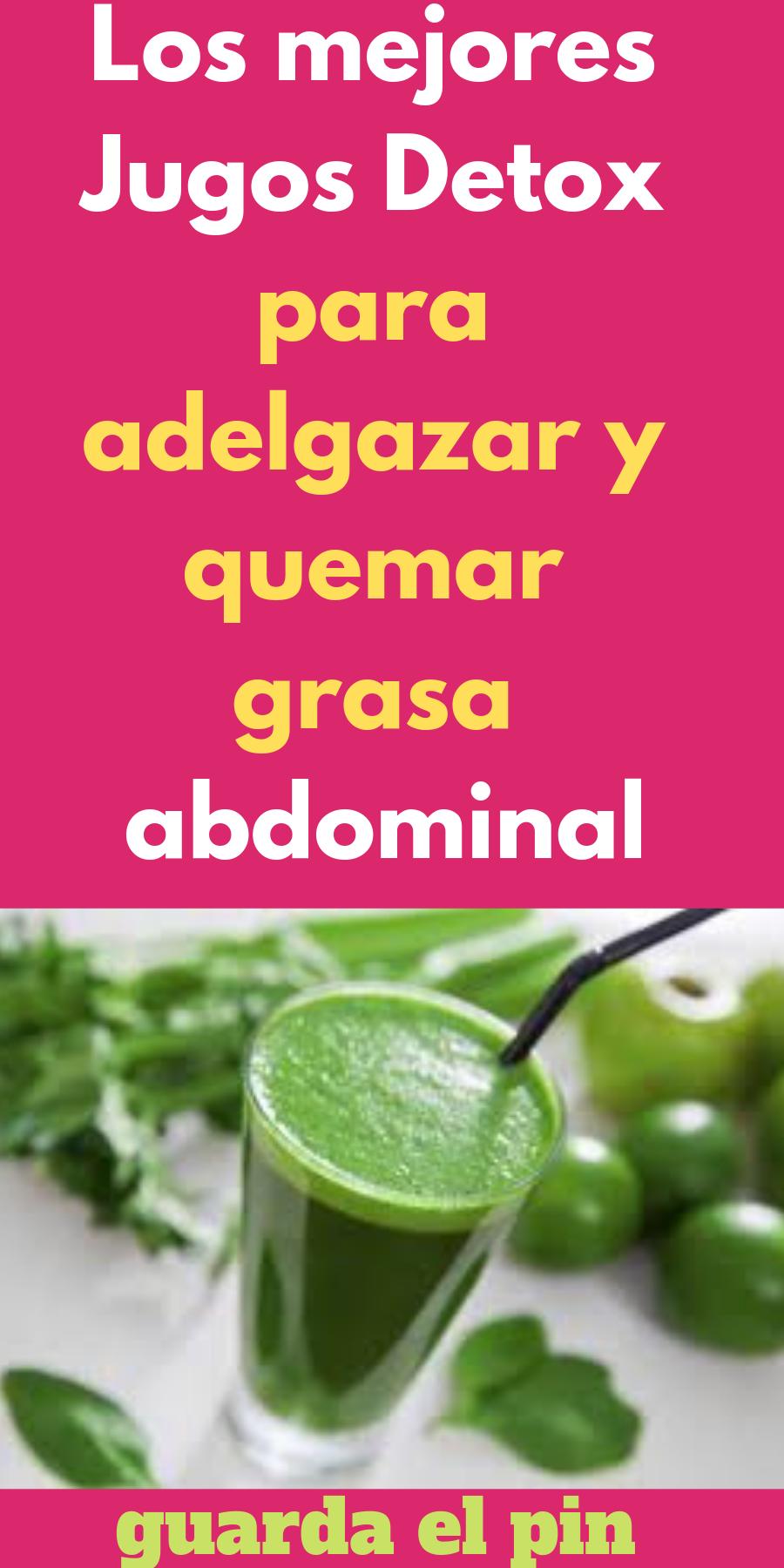 jugos detox para bajar de peso recetas de pavo
