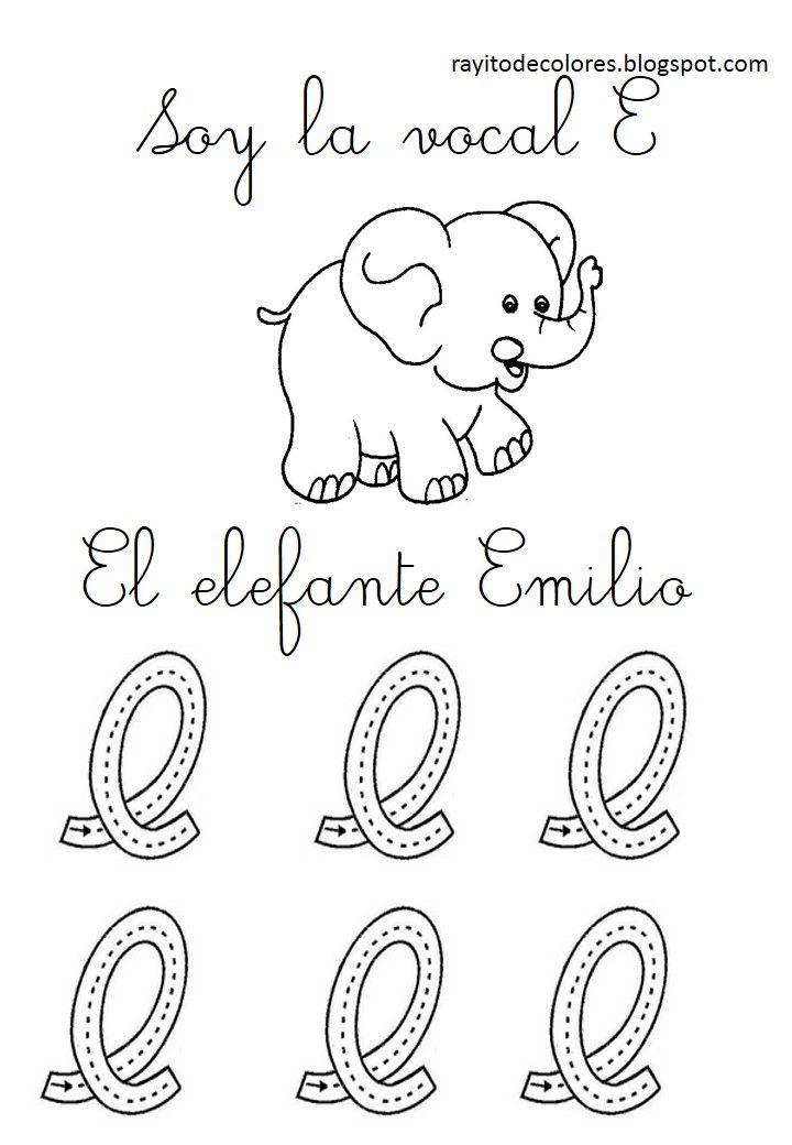 Series Con Las Vocales Letra Carta Libros De Preescolar