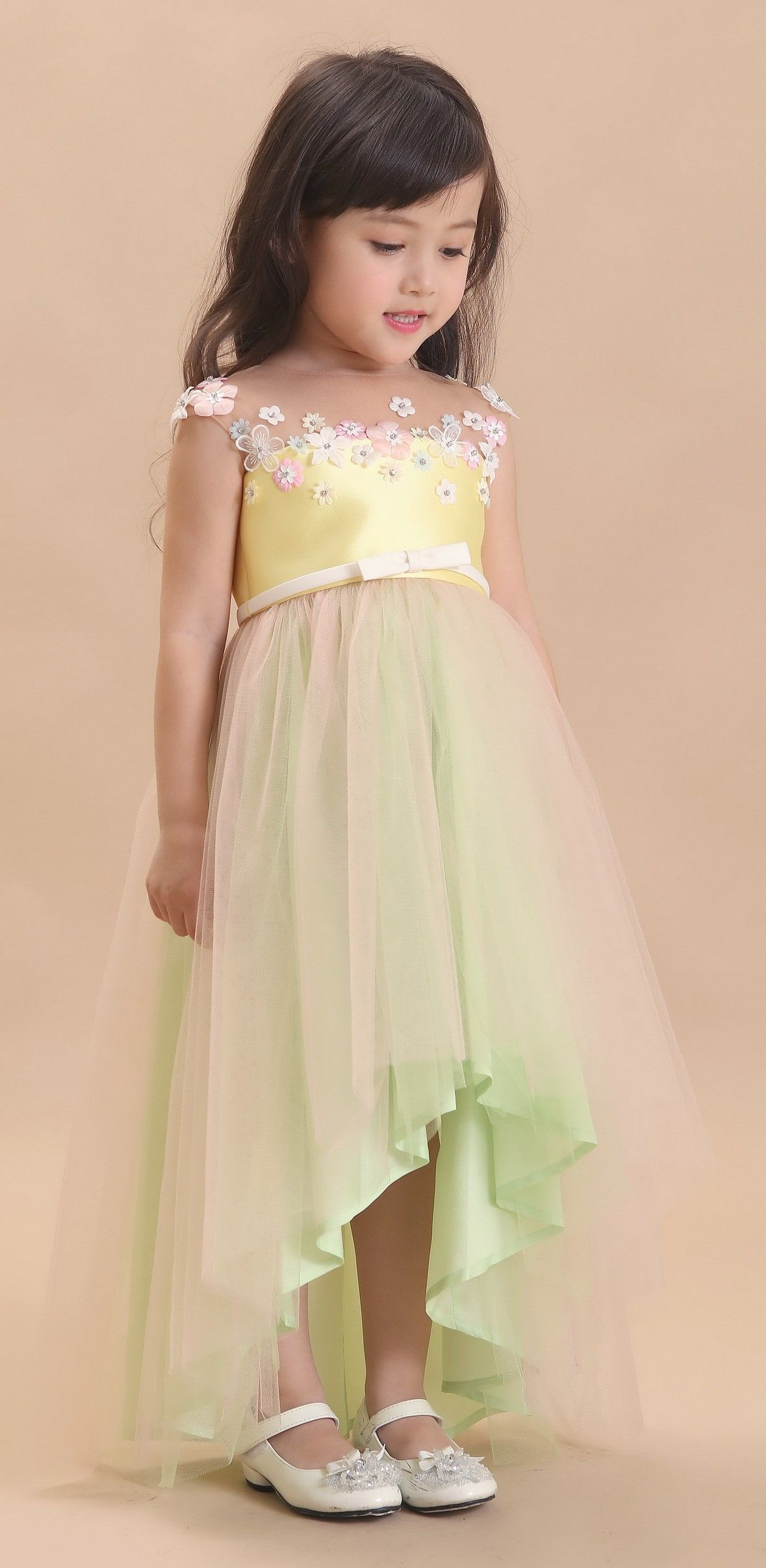 329c995ca DORIAN HO Baby Doll FW 17/18 Wedding Dresses For Kids, Gowns For Girls