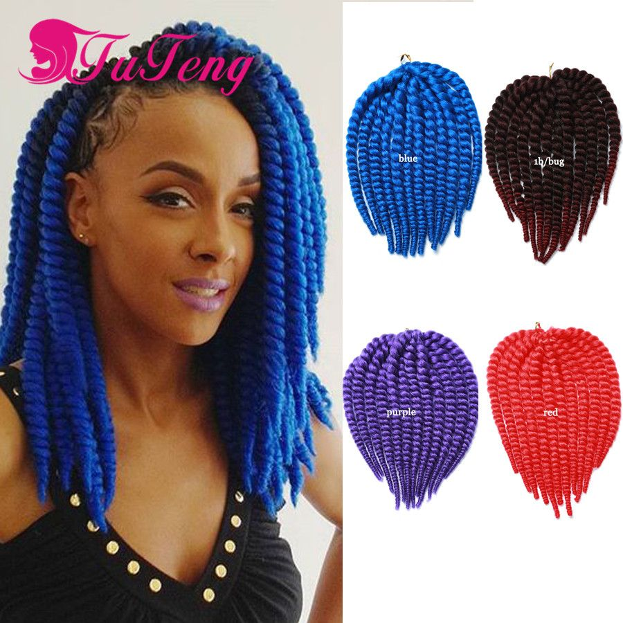 12 Inch Havana Mambo Twist Crochet Hair Extensions Braids Xpression Braiding