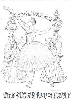Coloring Pages Dance Coloring Pages Christmas Coloring Pages Nutcracker Ballet