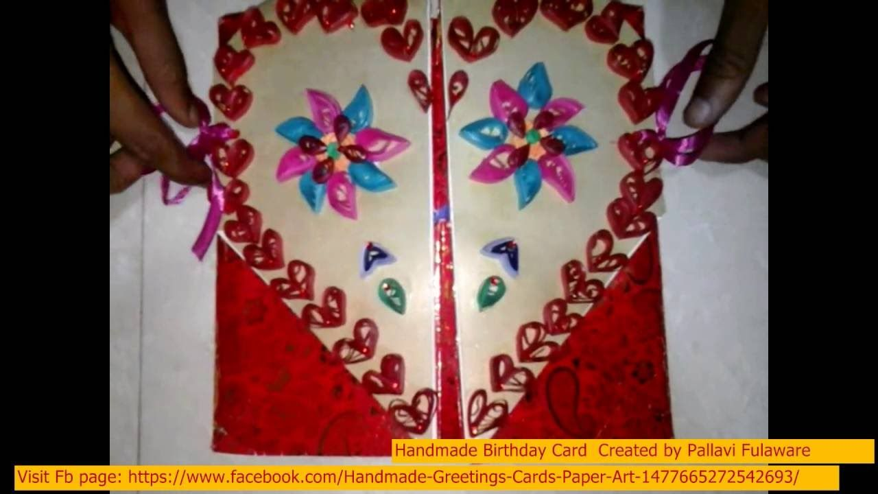 Birthday Handmade Unique Pop Up 3d Greeting Card Making Ideas For