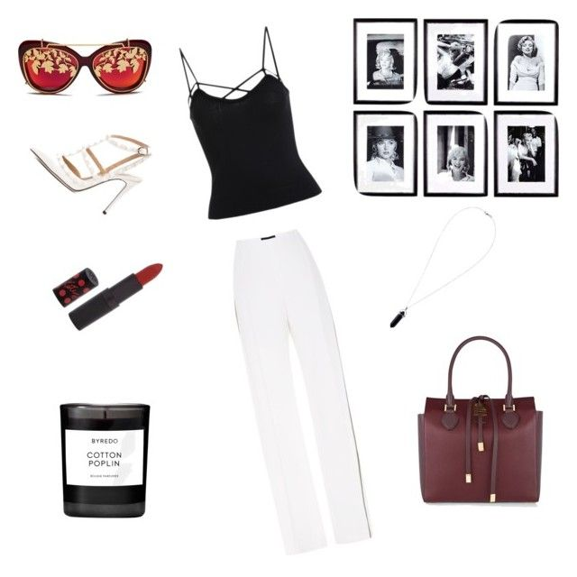 """""""back to the 80s"""" by weijin ❤ liked on Polyvore featuring Matthew Williamson, Michael Kors, Eichholtz, Jonathan Saunders, Rimmel and Byredo"""