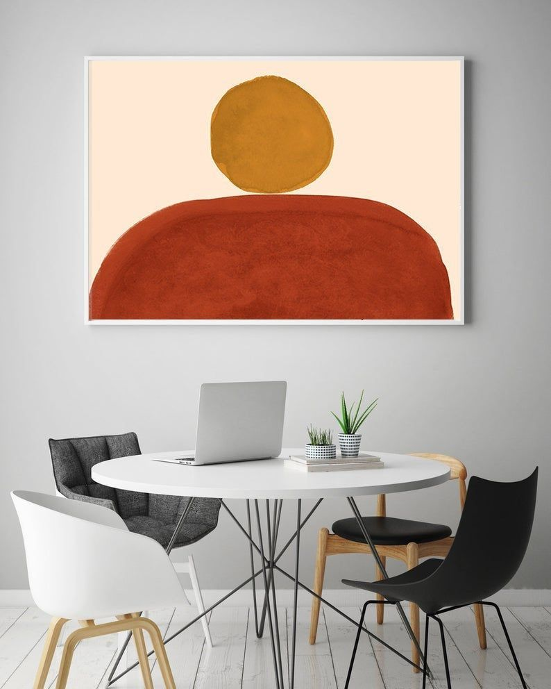 Park Art|My WordPress Blog_Burnt Orange Wall Decor