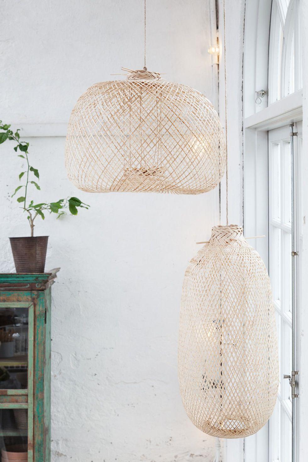 Luftig Bambus Bambus Lampe Home Lights Og Home Decor