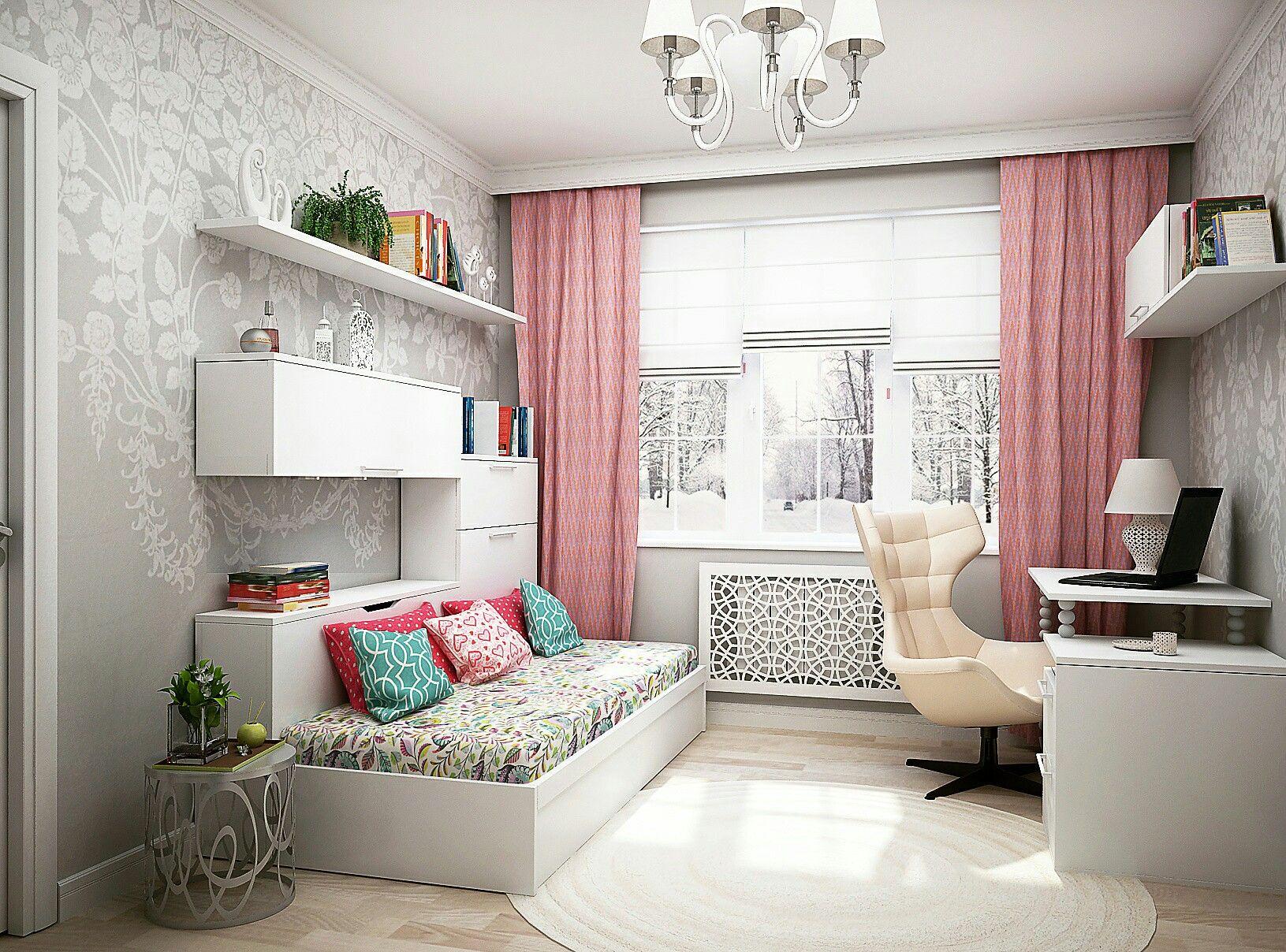 комнаты фото для девушек