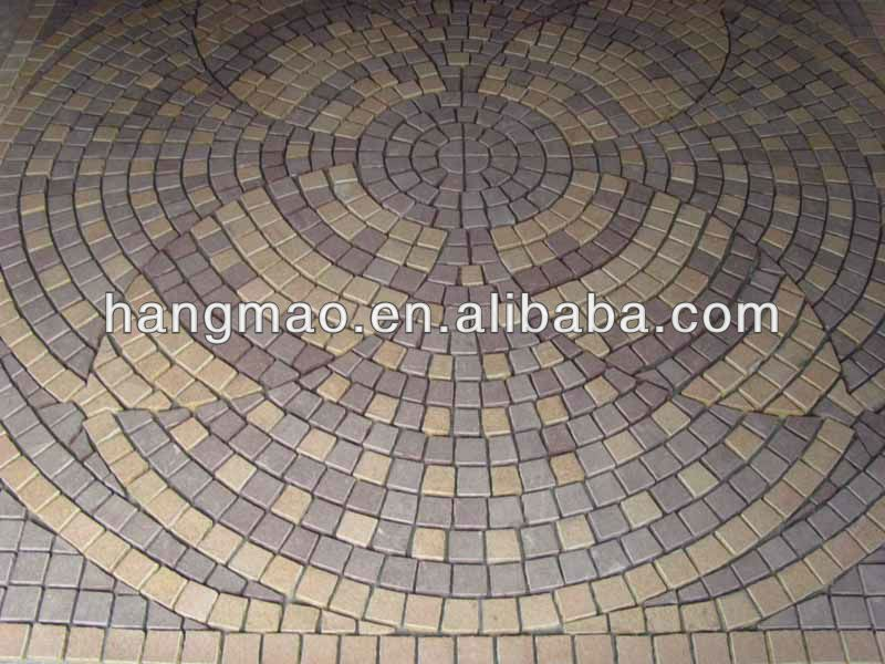 round driveway pavers lowes