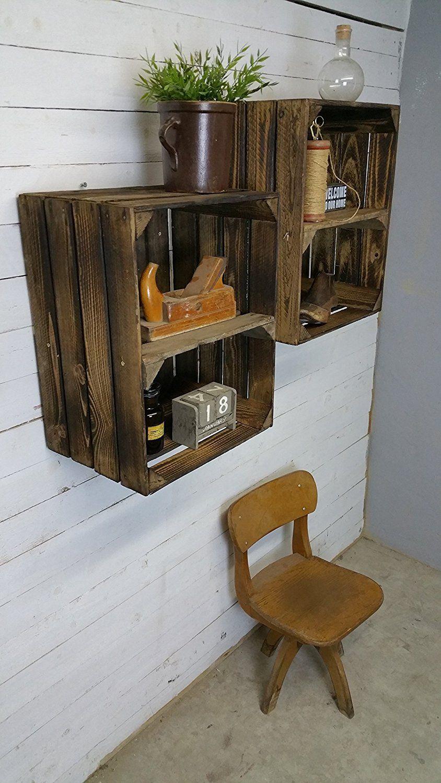 o trouver des caisses en bois et des cagettes wishlist d co pinterest. Black Bedroom Furniture Sets. Home Design Ideas