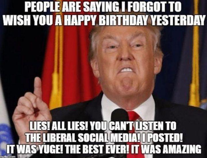 85 Alles Gute Zum Verspateten Geburtstag Memes Fur Wenn Sie