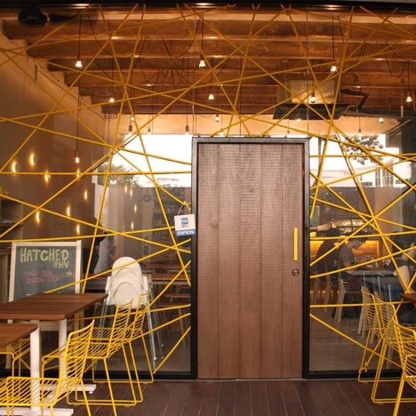 Birds Nest Inspired Facade Of This Singapore Cafe By Designers Outofstock