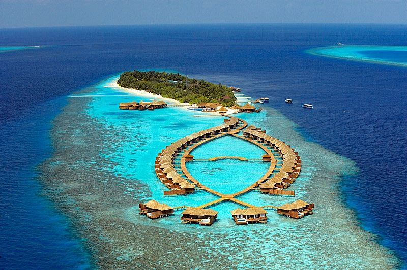 Lily Beach Resort Maldives An Aerial View Of The Upscale Haute Spa Off Seychelles Coast Known As Won