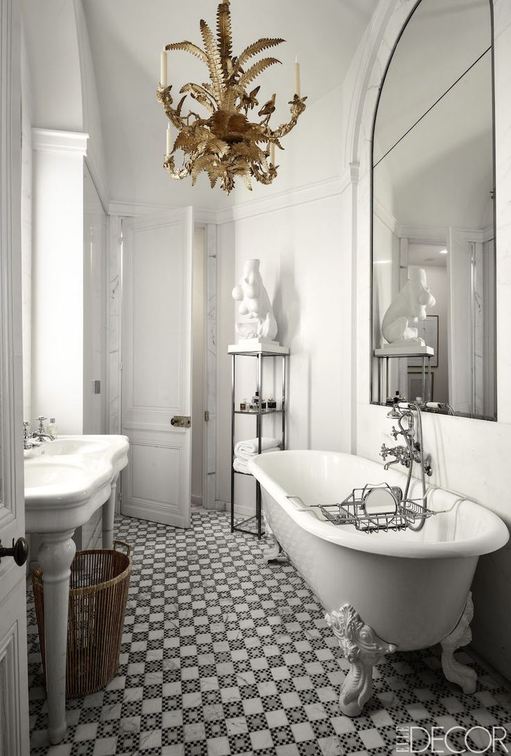 10 Eye-Catching and Luxurious Black and White Bathroom Ideas ➤To ...