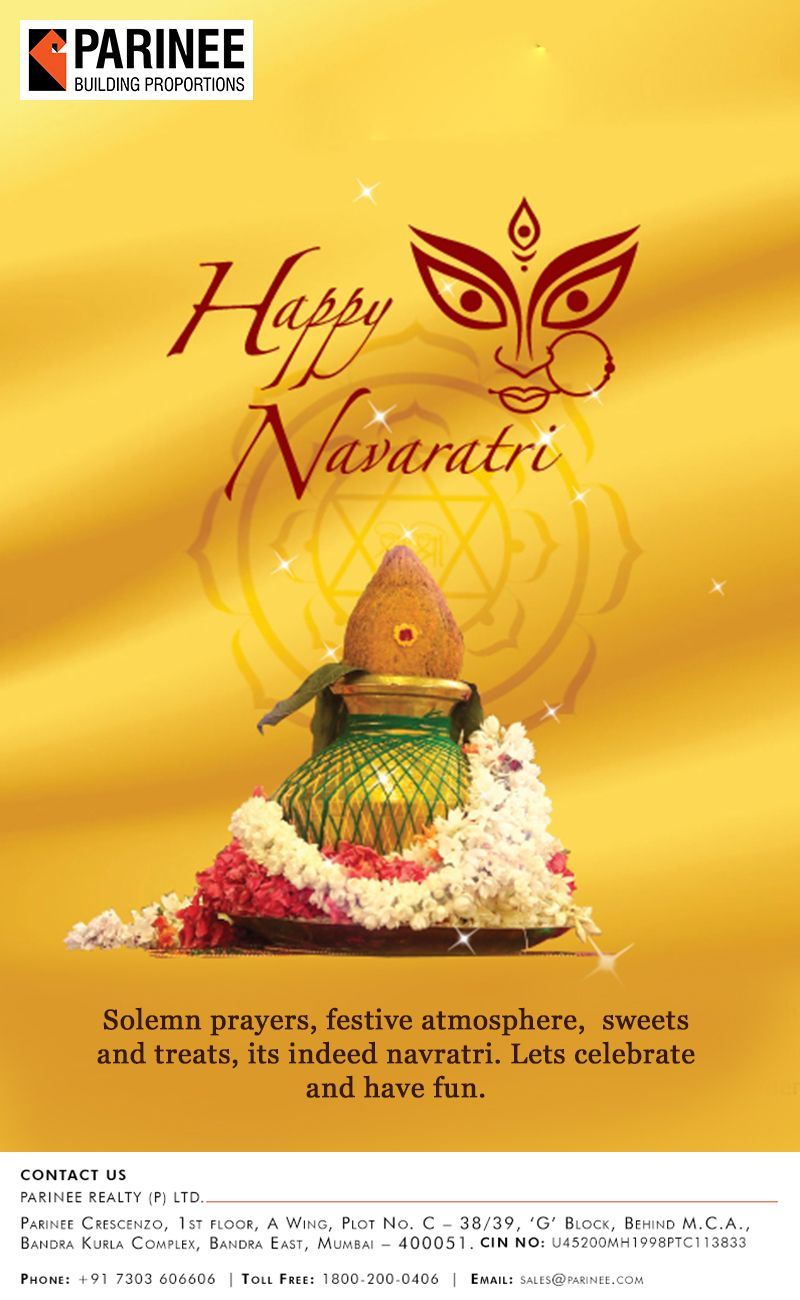Parinee Realty Wishes You All A Very Happy Navratri Www Parinee Com Navratri2016 Occasion F Happy Navratri Wishes Happy Navratri Happy Raksha Bandhan Wishes
